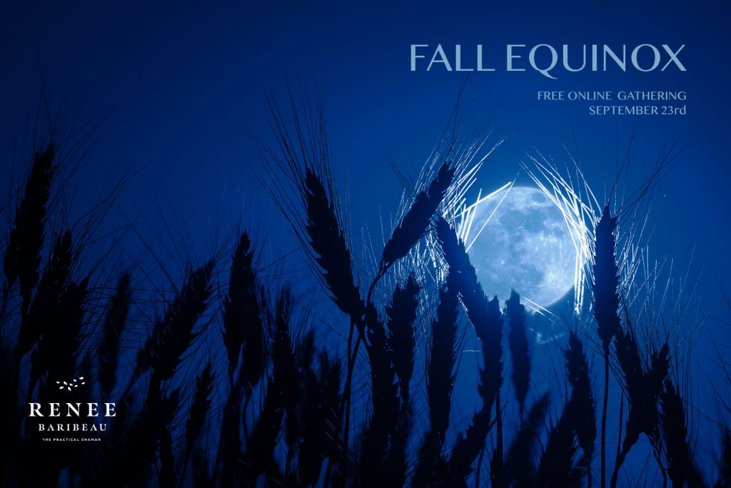 Fall Equinox Harvest Moon.