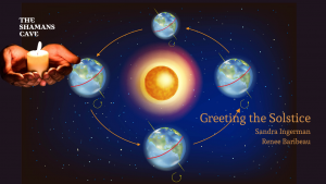 Greeting the Solstice Banner